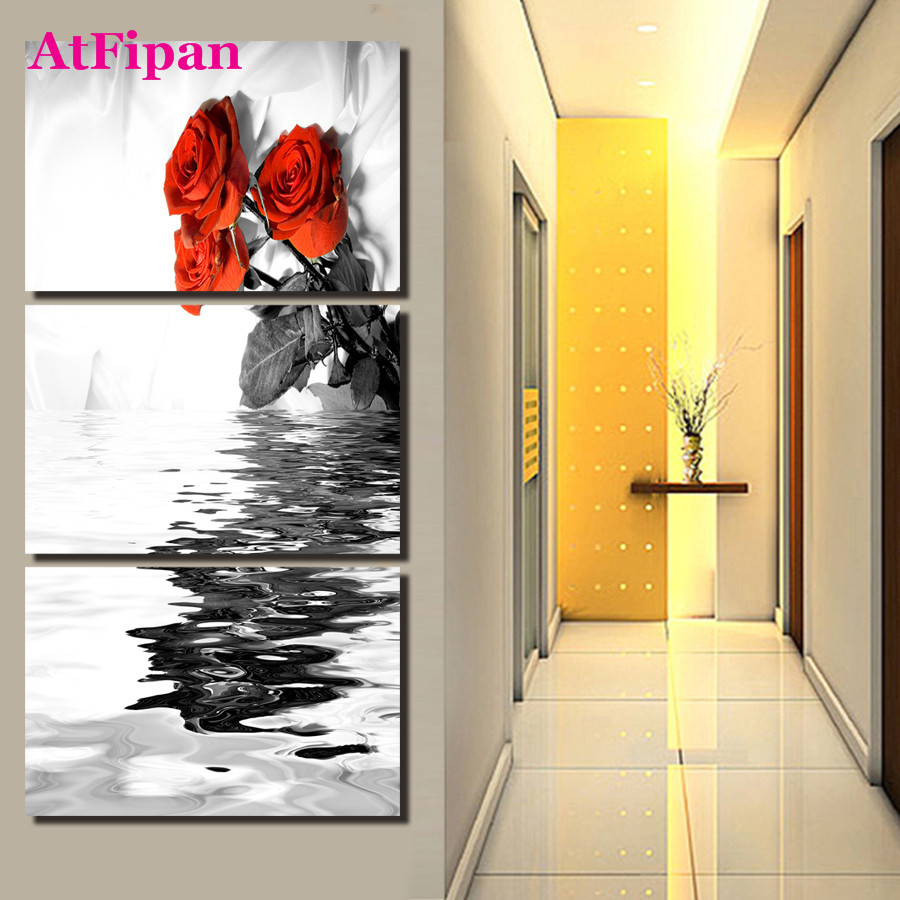 Online Get Cheap Wall Pictures for Living Room Roses -Aliexpress.com ...