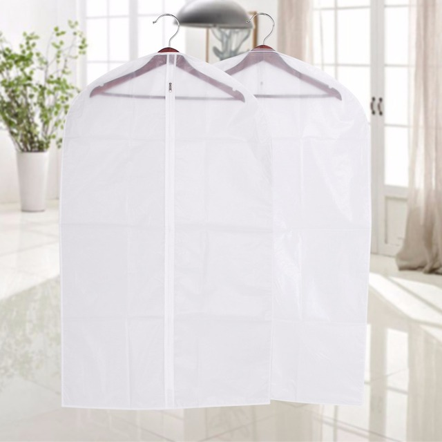 Cover Protector Wardrobe Storage Bag Case For Clothes Organizador Trench Coat Dress Garment Suit Coat Dust Cover