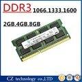 Venda 2 gb 4 gb 8 gb DDR3 1066 1333 1600 1600 mhz 1333 mhz 1066 mhz SO-DIMM DDR3 4 GB DDR3L Memória Ram Memoria sdram Para Notebook Laptop