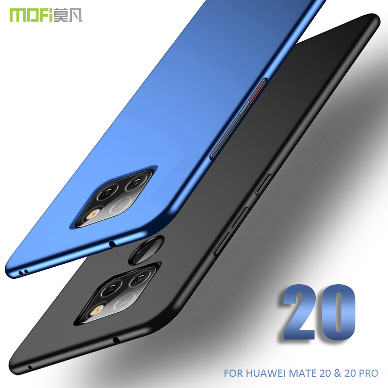 for huawei mate 20 pro Case Cover huawei mate 20 Hard PC back cover Case MOFI mate 20pro Full Cover case mate 20 frosted Case