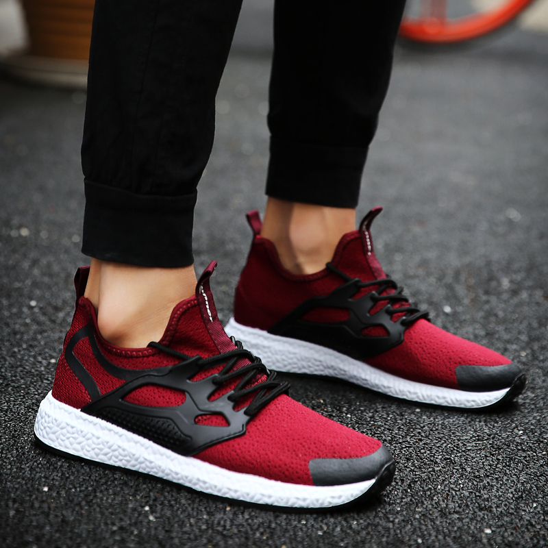 Mens Walking Shoes Breathable Light-weight Sneakers Women Outdoor Sports Shoes Men Brand Shoes