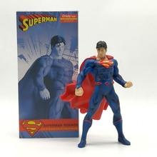 Superman Şekil 1/8 ölçekli boyalı şekil Çılgın Oyuncaklar Superman PVC Aksiyon Figürleri Oyuncak Brinquedos Anime