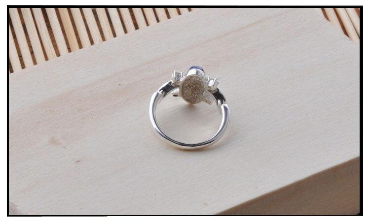Le Vampire Diaries Elena Anti soleil antique 925 en argent Sterling anneau cadeau pour les Fans film bijoux anneaux livraison directe Cool - 4