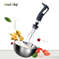 ITOP New Blender Commercial Electric Egg Cake Beater Handheld 350W/500W Variable Speed Hand Blender