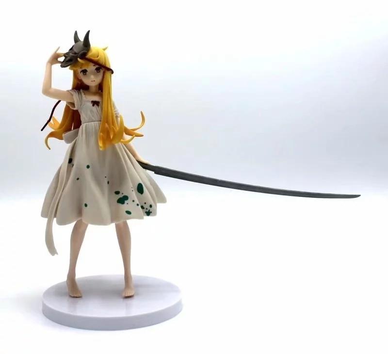 Oshino Shinobu Action Figure Collectible PVC Sexy Model Bakemonogatari Shinobu Figurine in Action Toy Figures from Toys Hobbies