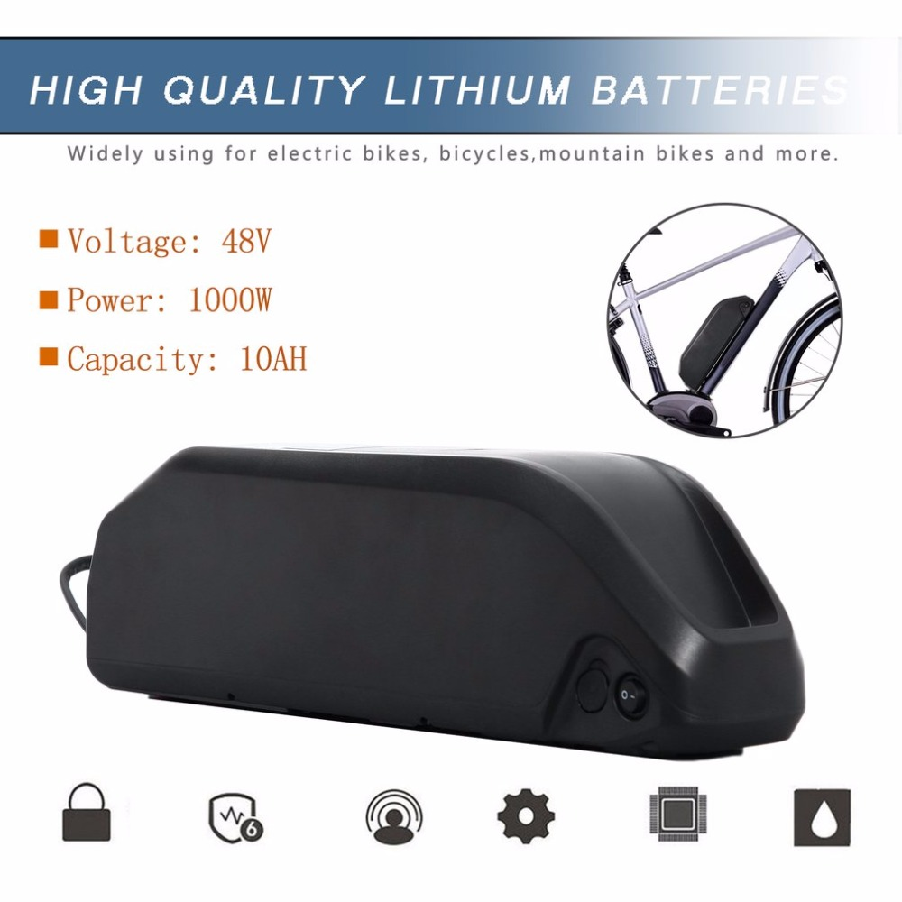 2019 New 48V 10AH 480Wh Ebike Battery Li ion Battery for Electric Bike Scooters Bicycle Electric Tricycle Lithium Battery