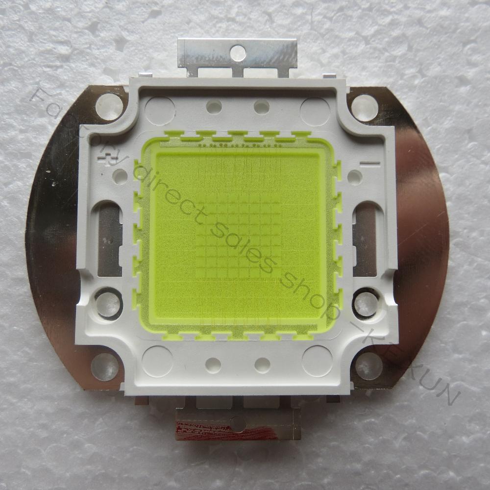 vysoce výkonný led projektor lampa vedl DIY projektor světlo 128w epistar 45mil vedl čip 150-160lm / W 8000-10000K (10 kusů / šarže)