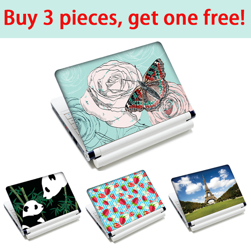 laptop sticker for macbook air/ pro 13 13.3 15 15.6 17 vinyl skin for mi notebook air for lenovo/acer/asus