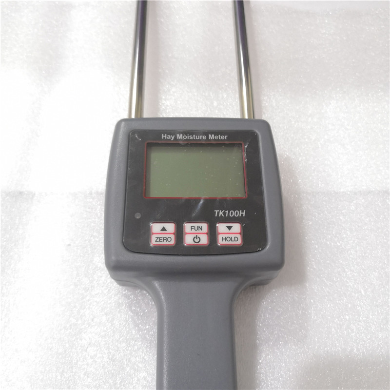 Portable Hay Moisture Meter for Cereal Straw,bran, Forage Grass, Leymus chinensis, Emperor Bamboo Grass, Testing Fibre TK100HPortable Hay Moisture Meter for Cereal Straw,bran, Forage Grass, Leymus chinensis, Emperor Bamboo Grass, Testing Fibre TK100H