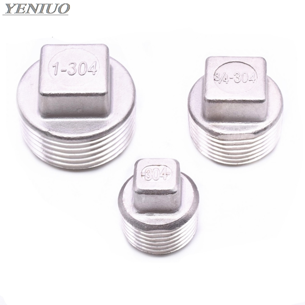 """For Petrol Fuel Pipe 1x Square Headed Plug 3//8"""" BSP"""