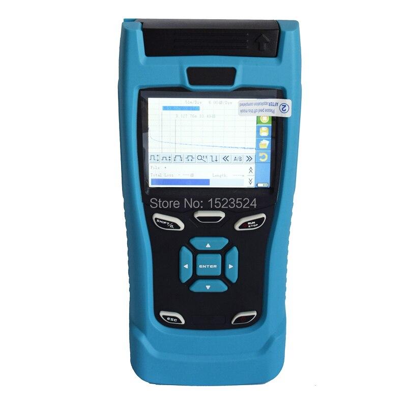 30/28dB SM 1310/1550nm Mini OTDR Optik Zaman Alan Reflektometri Fiber Optik OTDR ile Dokunmatik Ekran30/28dB SM 1310/1550nm Mini OTDR Optik Zaman Alan Reflektometri Fiber Optik OTDR ile Dokunmatik Ekran