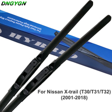 For Nissan X-trail T31 T30 T32 Car Windshield Wiper Blade Rubber 2001 to 2018