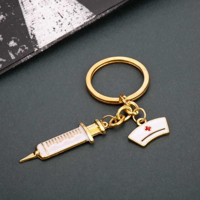 ... MQCHUN Syringe Stethoscope Keychain Bag Key Chain For Cosplay Doctor Nurse Physicians Medical Student Graduation Jewelry ... & Detail Feedback Questions about MQCHUN Syringe Stethoscope Keychain ...