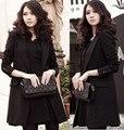 new blazer women blazers basic jackets office ladies long length blazer feminino suits for women big size 3xl/xxxl