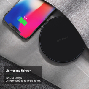 Image 2 - Sindvor 10W Fast Wireless Charger For Samsung S10 S20 S9 Note 10 USB Qi Charging Pad for iPhone SE 11 XS XR X 8 Plus Airpods Pro