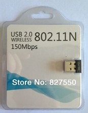 RTL8188 chips wifi dongle Mini 150Mbps USB Wireless Network Card WiFi LAN Adapter 802.11n/b/g free shipping