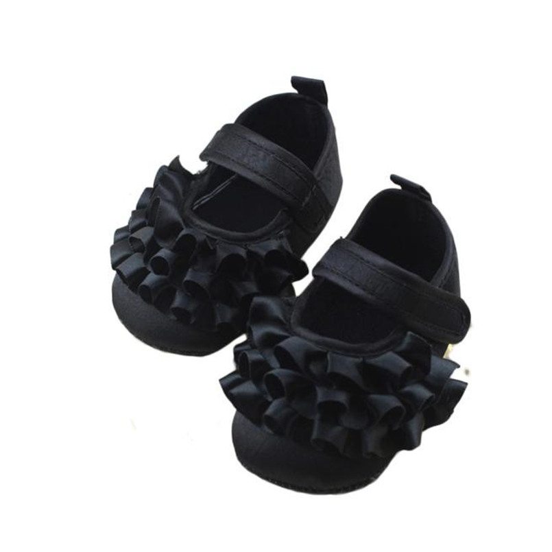 Mooistar2 #3066D Baby Toddler Girls Soft Sole Anti-Slip Shoes Prewalker Des gamins Chaussures