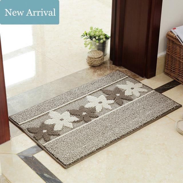 45*70cm Size Thicken Soft Carpet Area Rugs Slip Resistant Floor Mats for Living Room Bedroom Home Door Mats Outdoor Supplies