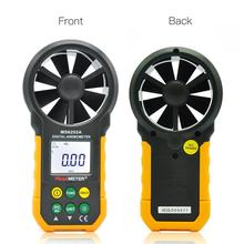 PEAKMETER Digital Anemometer Meter Wind Speed Testing Flow MIN/MAX