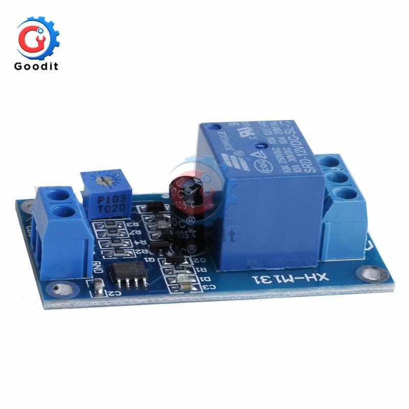 XH-M131 تيار مستمر 5 فولت/تيار مستمر 12 فولت 10A تتابع وحدة مفتاح تحكم في الضوء Photoresistor المباحث الاستشعار التتابع مجلس سطوع وحدة التحكم