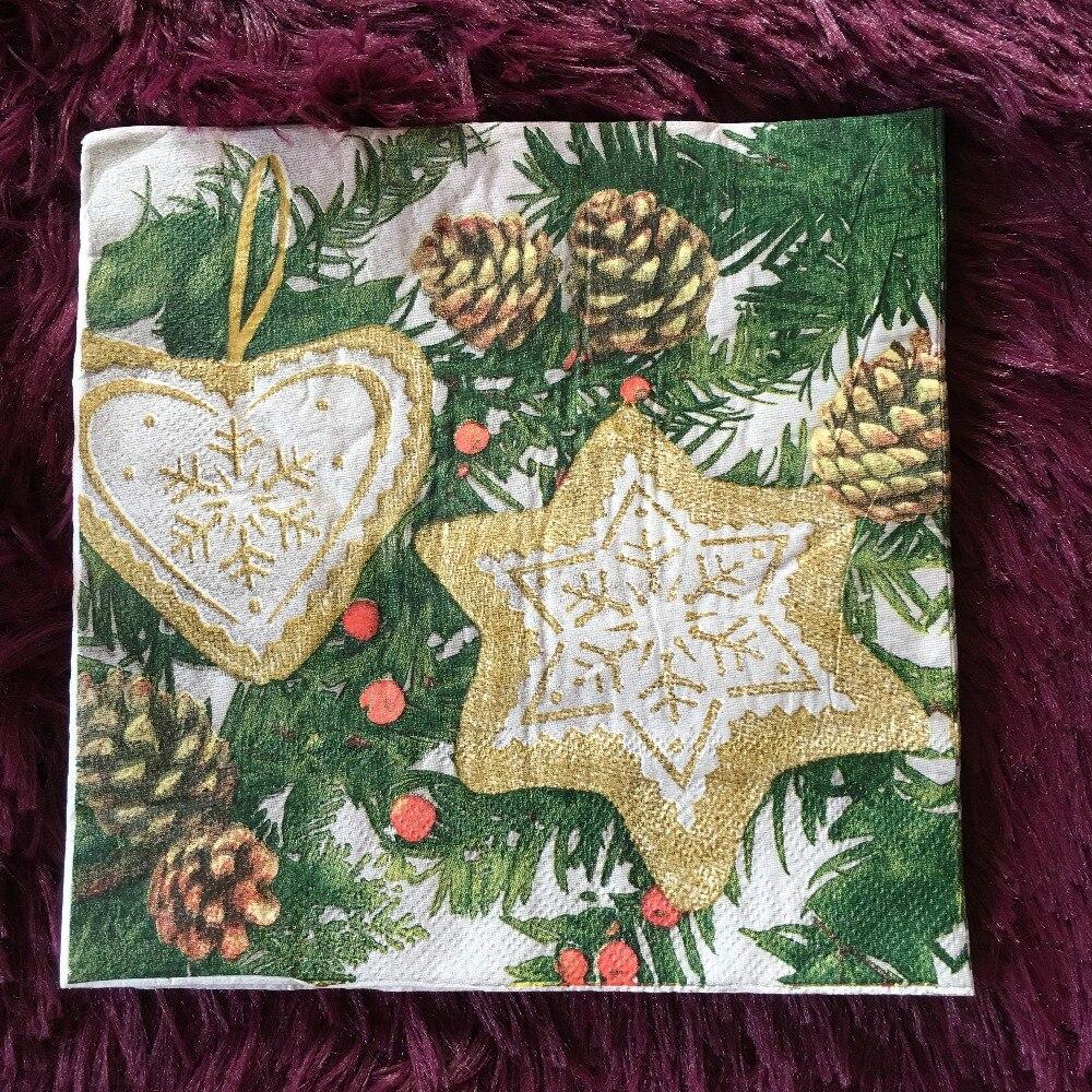 ღ ღNavidad servilleta Navidad muñeco árbol piñones pañuelo ...