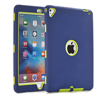For IPad Pro 9 7 Retina Kids Baby Safe Armor Shockproof Heavy Duty Silicone Hard Case