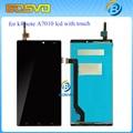 100% Тестирование Для Lenovo K4 NOTE A7010 5.5 дюймов LCD Экран с Сенсорной Панелью Дигитайзер Ассамблеи для k4 примечание A7010a48