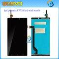 100% probado para lenovo k4 note a7010 de 5.5 pulgadas lcd Pantalla con Touch Panel Digitalizador Asamblea para k4 nota A7010a48