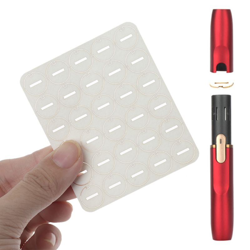 30pcs For IQOS 2.4 Plus Absorb Oil Gasket Repair Accessories Clean Tool Little Slice Clean Gasket dropshipping