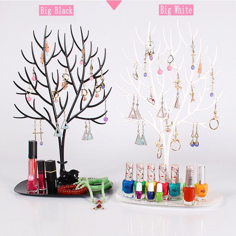 2017 New Arrival My Jewelry Accessories Tray Tree Household Storage Racks for Earrings Necklace Ring Large Size