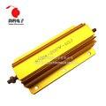 200 Вт RX24 алюминиевый мощный металлический корпус чехол с проволочным резистором 0,1 ~ 1K 0,15 0,2 0,5 1 2 4 6 8 10 15 20 100 150 200 300 400 1K Ом