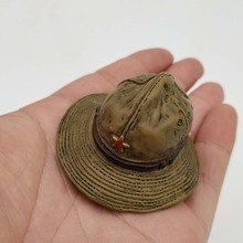 цена на 1/6 Scale Russia Soviet Red Army Hats Model Toy for 12inch Action Figure Collection DIY Hobbies