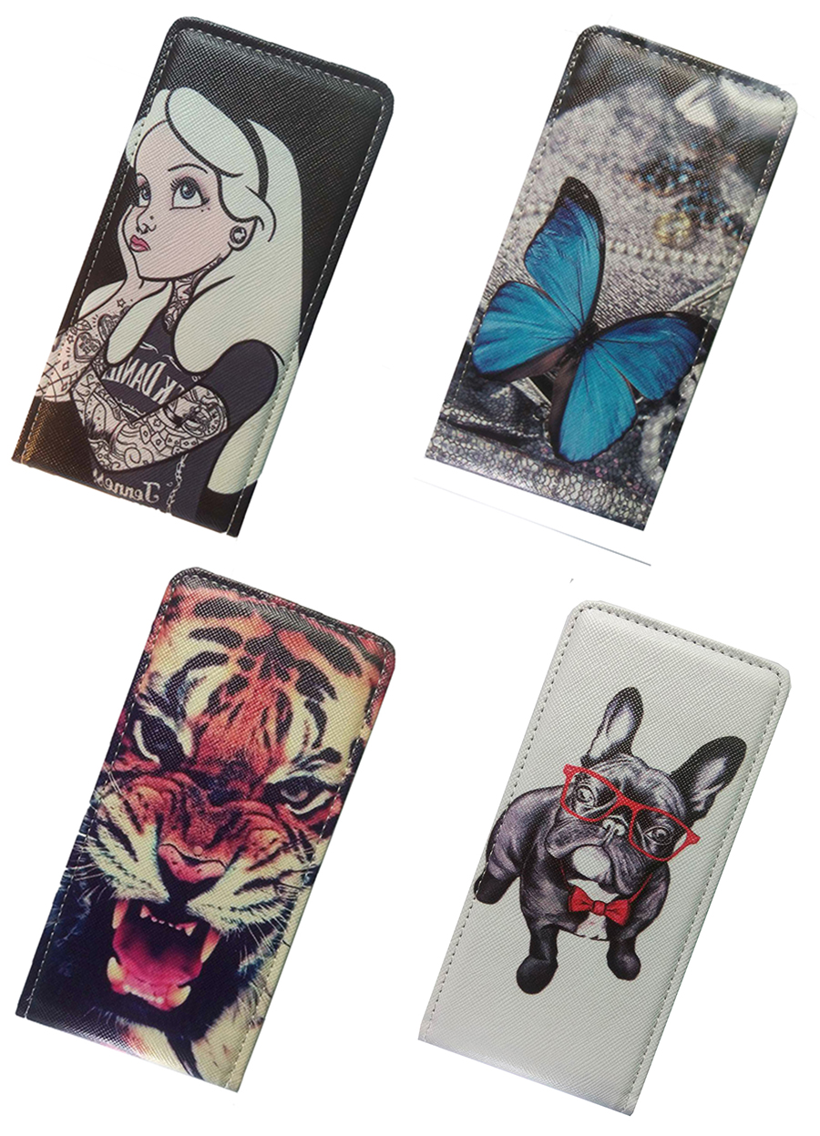 Yooyour Case FOR VERTEX Impress Hit Cover Printed Flip PU Leather For VERTEX Impress Fun Easy