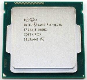 Image 2 - インテルコア i5 4670 18k 3.4 ghz 6 メガバイトソケット lga 1150 クアッドコア cpu プロセッサ SR14A