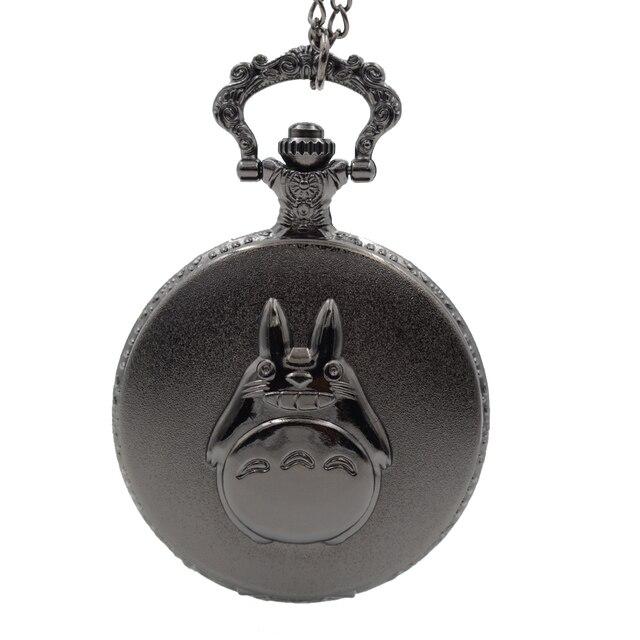My Neighbor Totoro Japanese Animated Film Movie Totoro Dial Quartz Pocket Watch