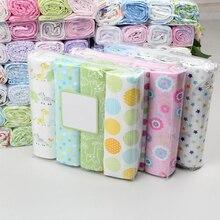 4 шт./лот Муслин 100% хлопок фланель детские пеленки мягкие одеяла для новорожденных детские одеяла новорожденных муслин Подгузники ребенка пеленать Обёрточная бумага