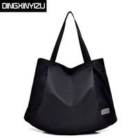 DINGXINYIZU Brand Women Handbags Casual Large Shoulder Bag Waterproof Nylon Ladies Travel Casual Bags Shopping Bags