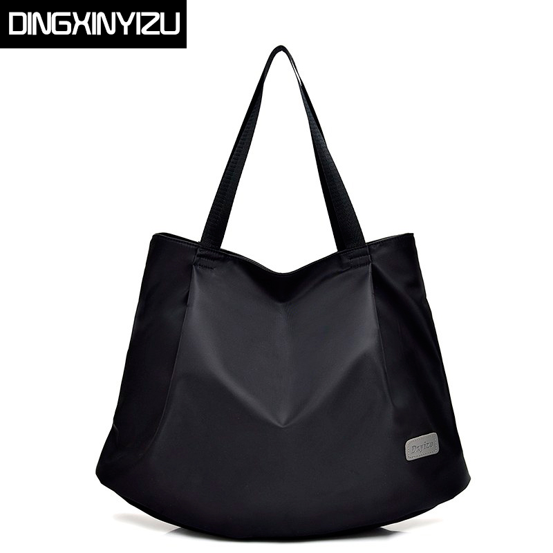 DINGXINYIZU Brand Women Handbags Casual Large Shoulder Bag Waterproof Nylon Ladies Travel Casual Bags Shopping Bags Bolsos Mujer