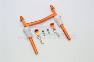Image 5 - 1/10 AXIAL SMT10 90055 aleación trasera de aluminio poste del cuerpo con CLIP y montaje 1 Juego de PC MJ201R
