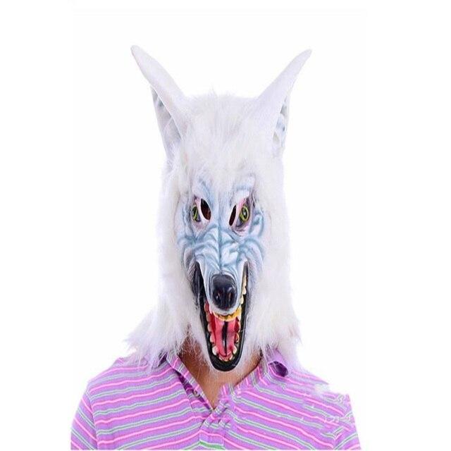 Heißer verkauf Schreien Horror Magische Einhorn Kopf Maske Scary ...