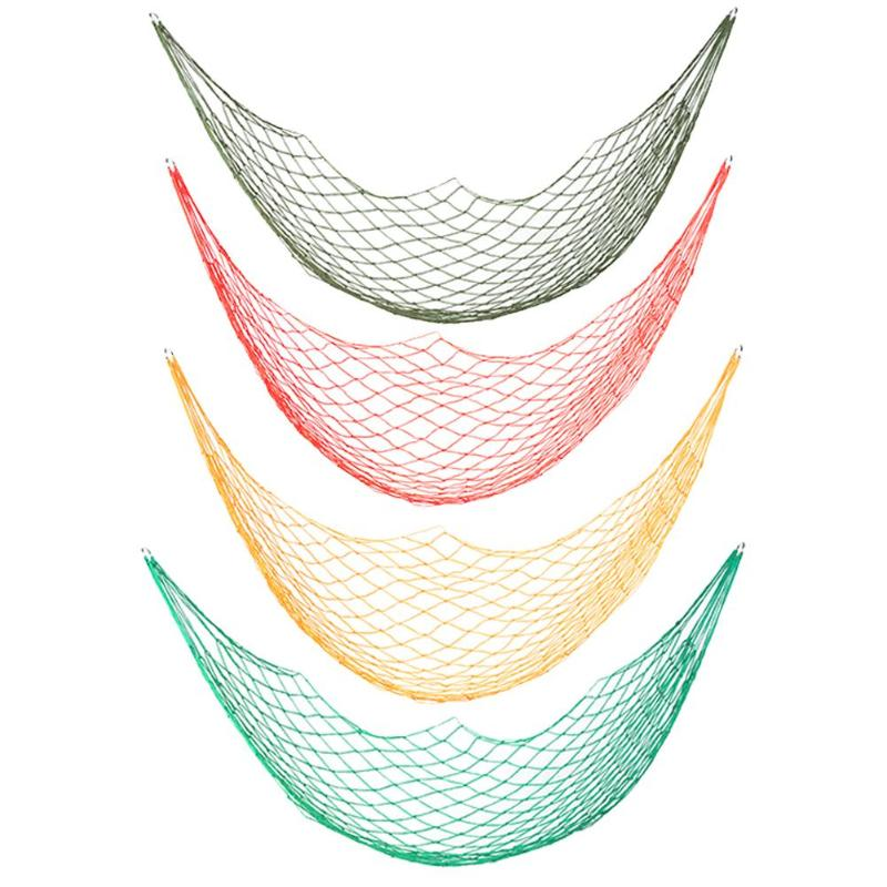 Hamak Portable Nylon Hanging Bed Mesh Net Swing Sleeping Camping Travel Hammocks