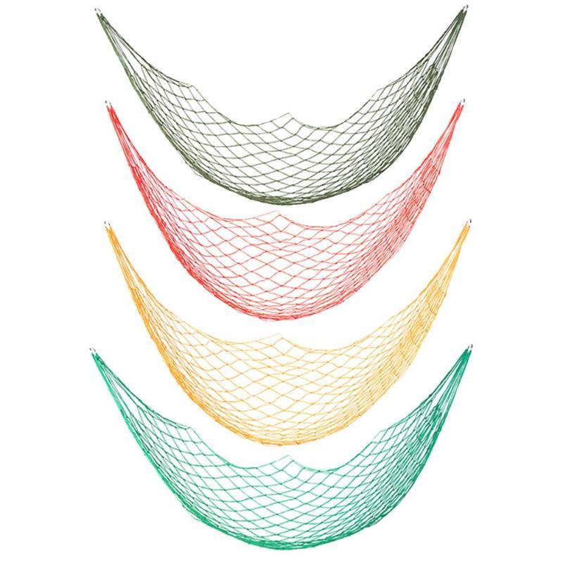 Hamak Portable Nylon Hanging Bed Mesh Net Swing Sleeping Camping Travel Hammocks