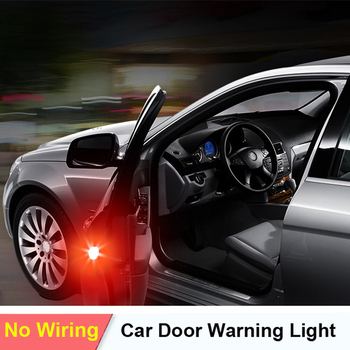 2x Car Door Lights LED Warning Lamp Signal Lamp For Mercedes Benz W202 W220 W204 W203 W210 W124 W211 W222 X204 AMG CLK image