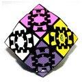 Engranajes Lanlan Dodecaedro Rómbico 12 lados Quadrangle Twisty Puzzle Cubo Mágico Negro Niños Educativos Envío Gratis