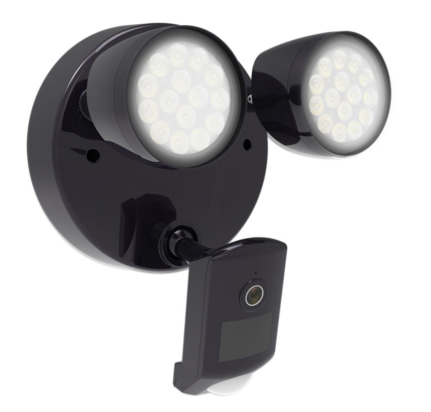 Smart LED Floodlight Camera with  Live view and two-way talk PIR human detection alarm Smart LED Floodlight Camera with  Live view and two-way talk PIR human detection alarm