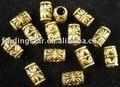 Бесплатная доставка 300 шт. старину золото прокладки богато трубки отверстие 4 мм A261G - фото