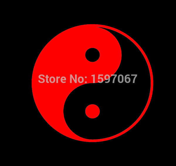 Yin Yang Peace Spiritual Ying Graphic Sticker Vinyl Decal Car Window Door Laptop Kayak 8 Colors horse riding sticker for car rear windshield truck suv bumper auto door laptop kayak canoe art wall die cut vinyl decal 8 colors