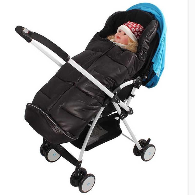 Çok fonksiyonlu bebek arabası su geçirmez, kar sıcak ayak koruyucu kış arabası seti uyku tulumu, yenidoğan bebek kalınlaşma için