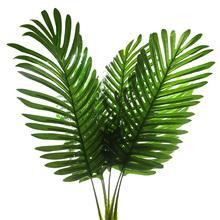 METABLE 5 Pack Palm Artificial Plants Leaves decorations faux large Tropical Imitation Ferns Leave