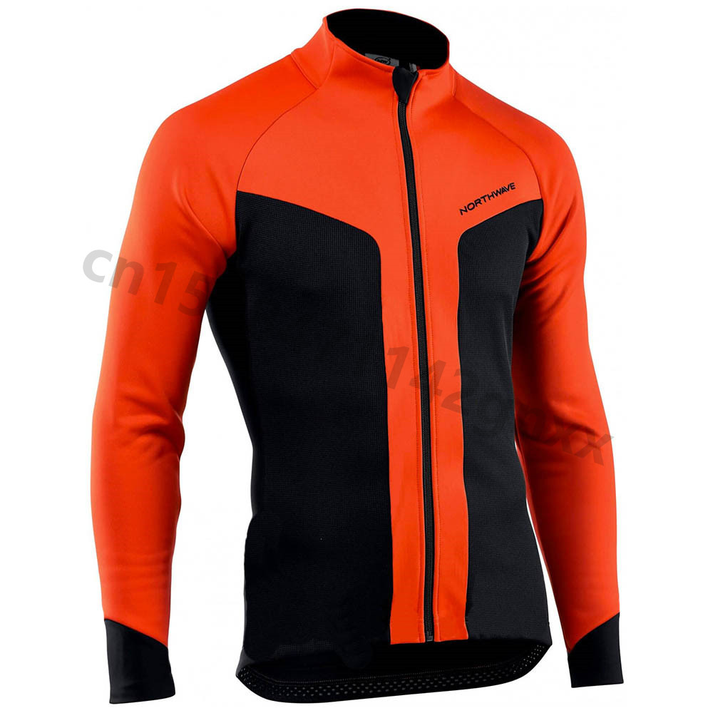 NW Ropa Ciclismo New Men's Long Sleeve Bicycle Cycling Jersey MTB Bike Shirt Autumn Breathable Outdoor Sports Racing Clothing A7